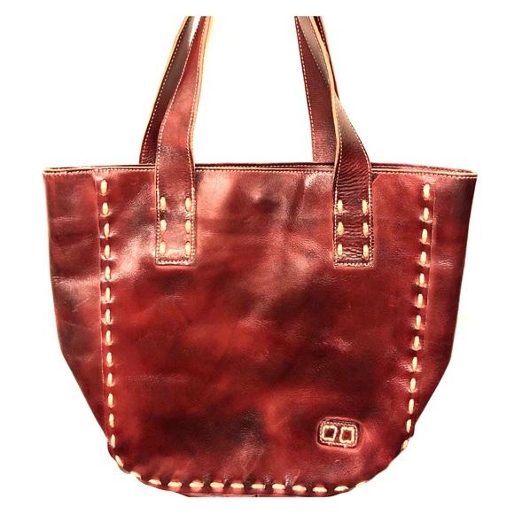 2414778140ef Bed Stu Handbags - Bed Stu Stevie Tote Red Oxblood